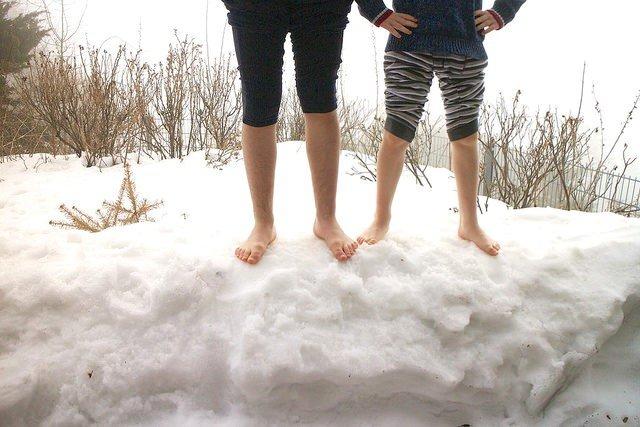 Vorbeugen und abhärten gegen Erkältungen: so aber nicht! © Flickr/Richard Leeming