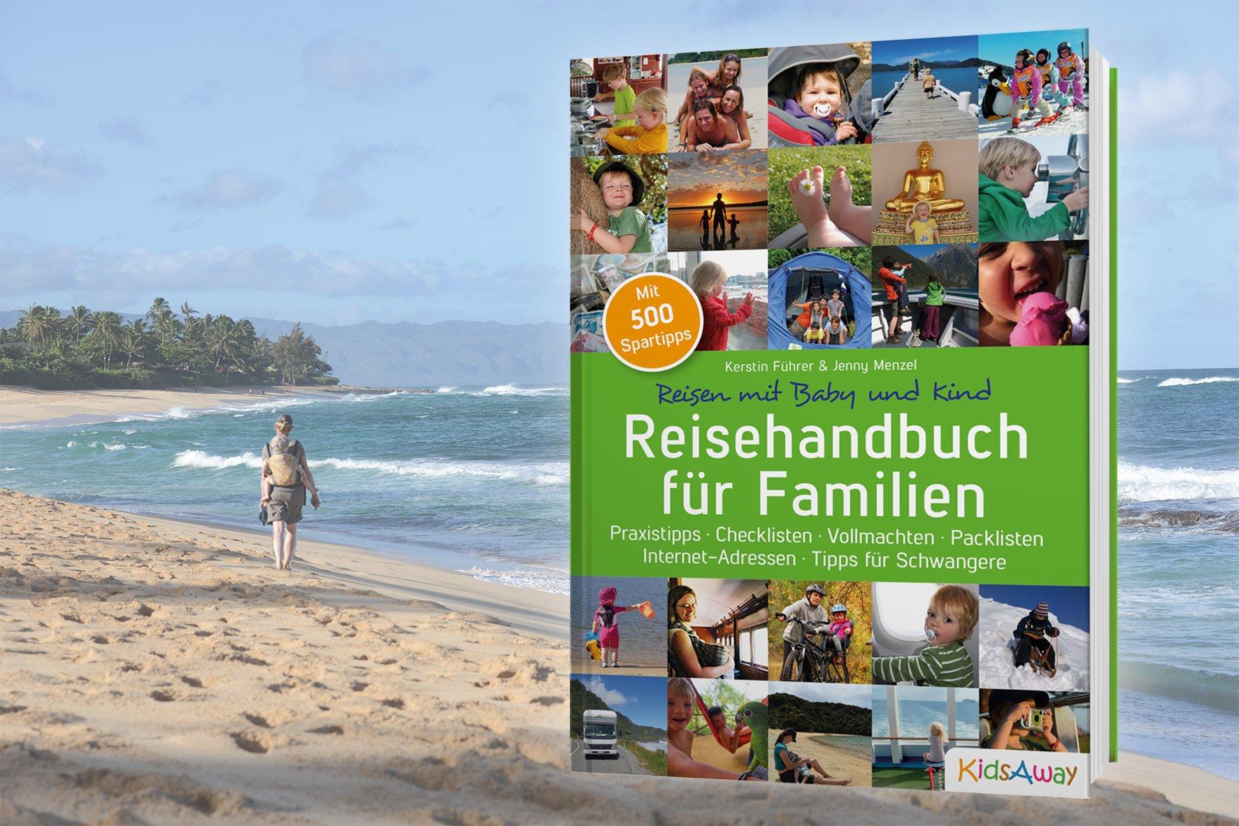 Geschenktipp Reisehandbuch für Familien © KidsAway.de