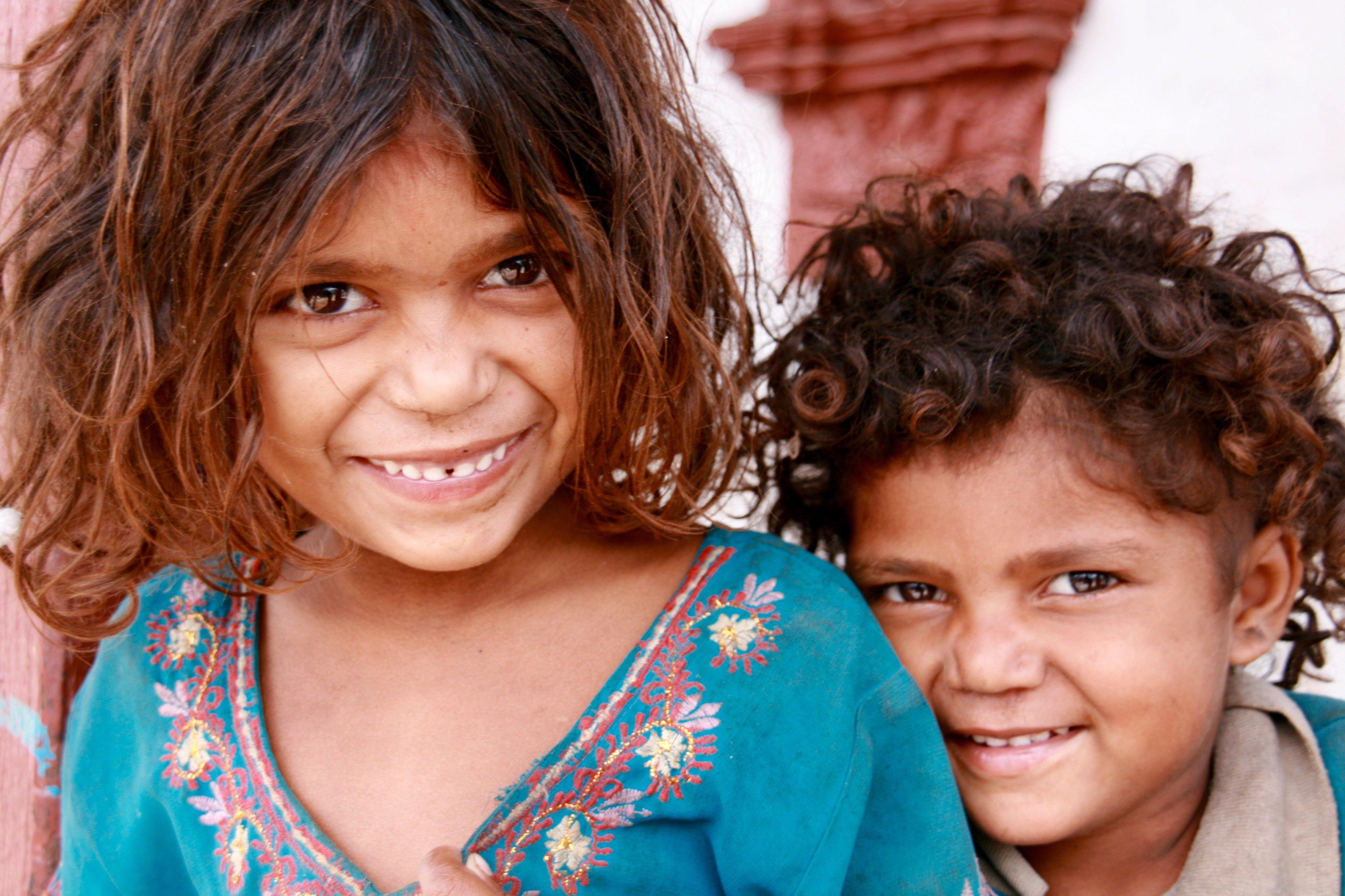Nepal: Kindliche Lebensfreude findet man auch in den ärmsten Ländern © Susanne Frank