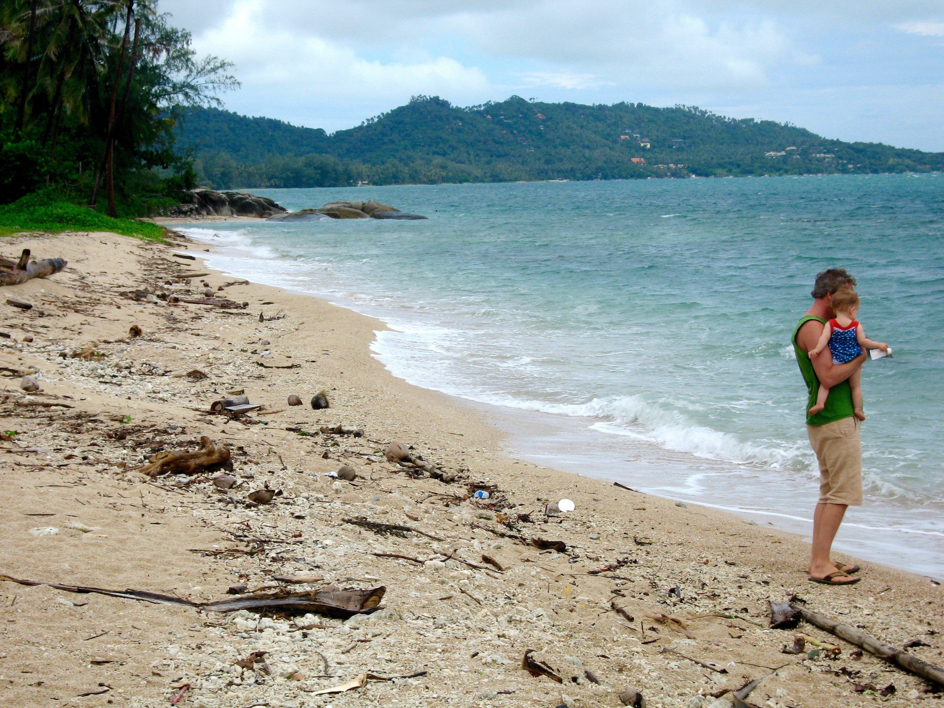 """So kann ein """"naturbelassener"""" Strand aussehen (Thailand) © Susanne Frank"""