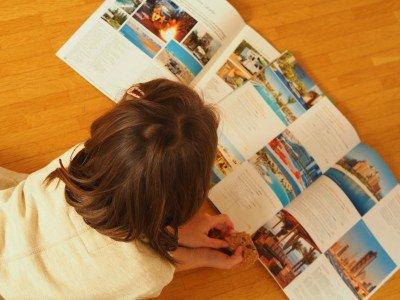 Urlaubskataloge sind tolle Bilderbücher, aber nicht leicht zu entschlüsseln © Susanne Frank