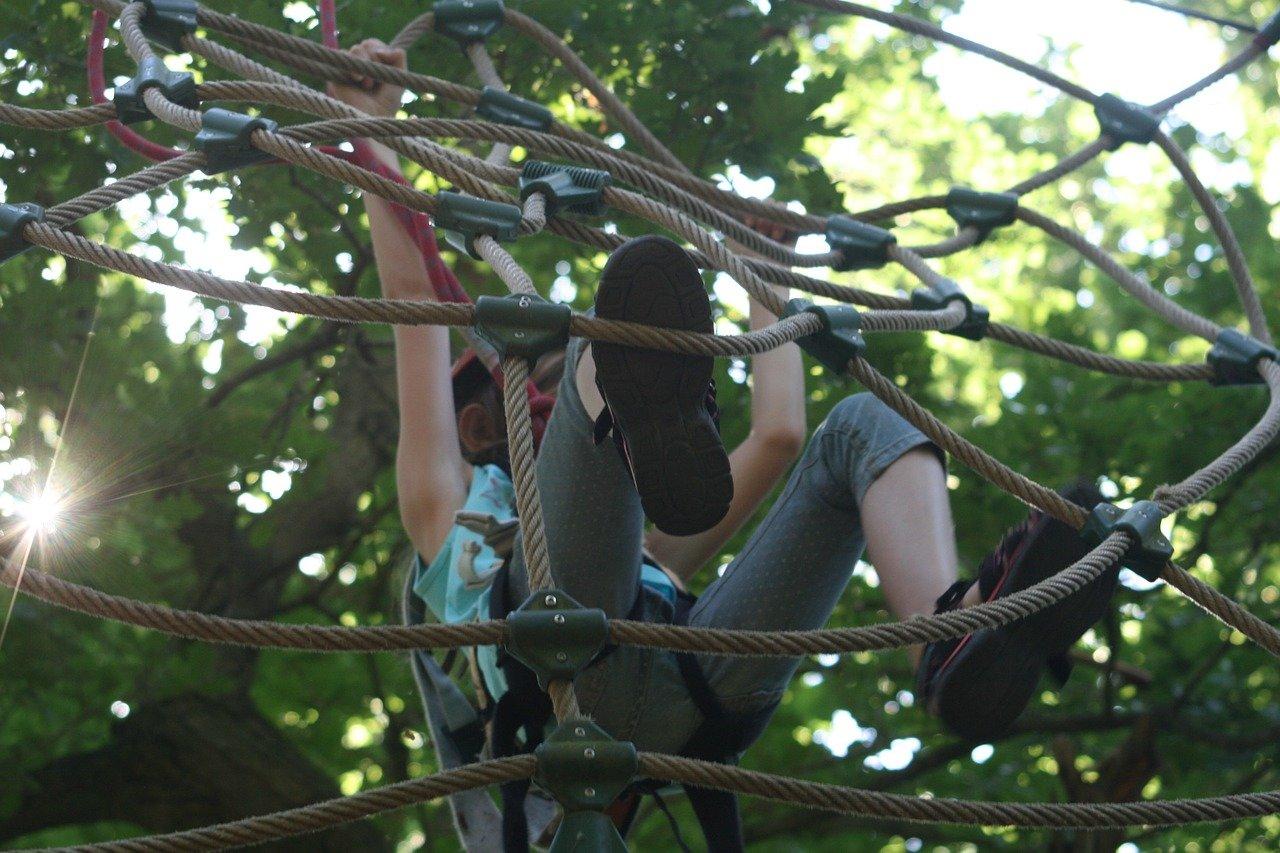 Klettern ist für Kinder ein Grundbedürfnis © Pixabay