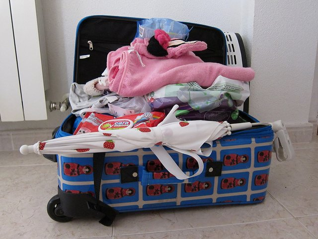 Clever packen fällt Kindern und Erwachsenen schwer © Flickr/Keith Williamson