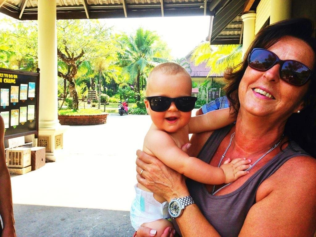 Reisen mit Oma und Opa ist einfach cool! © Stefanie Heining