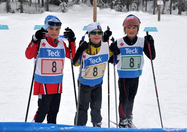 Wer sagt, dass wir zu klein für Skilanglauf sind? © Flickr/Christine Alder