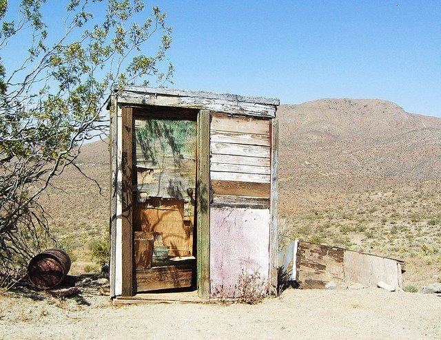 Wenn die Toilette so aussieht, hält man lieber ein... © Pixabay