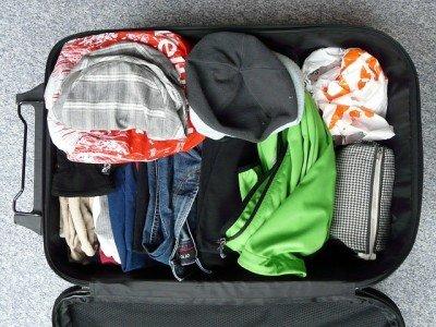 Ein paar Tricks, und der Koffer fasst gleich viel mehr Gepäck © Pixabay
