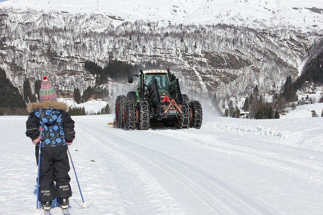 Eine spannende Langlauf-Route - mit Traktor! © Pixabay