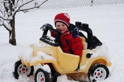 Im Winter Autofahren? Kinderspiel!