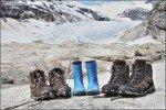 Gletscherzunge Nigardbreen am Sognefjord, Norwegen © Nicky2