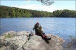 Picknick am See, Bohuslän, Schweden © Nicky2