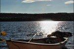 unterwegs mit dem Ruderboot, Schweden © Nicky2
