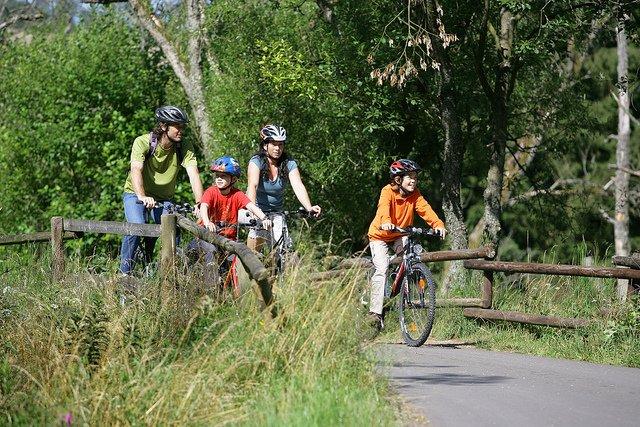 Radtouren sind tolle Familienerlebnisse  © Eifel Tourismus GmbH