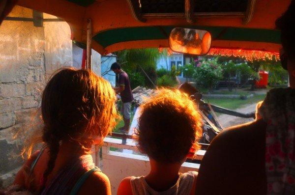 Mit Baby und Kind nach Indonesien