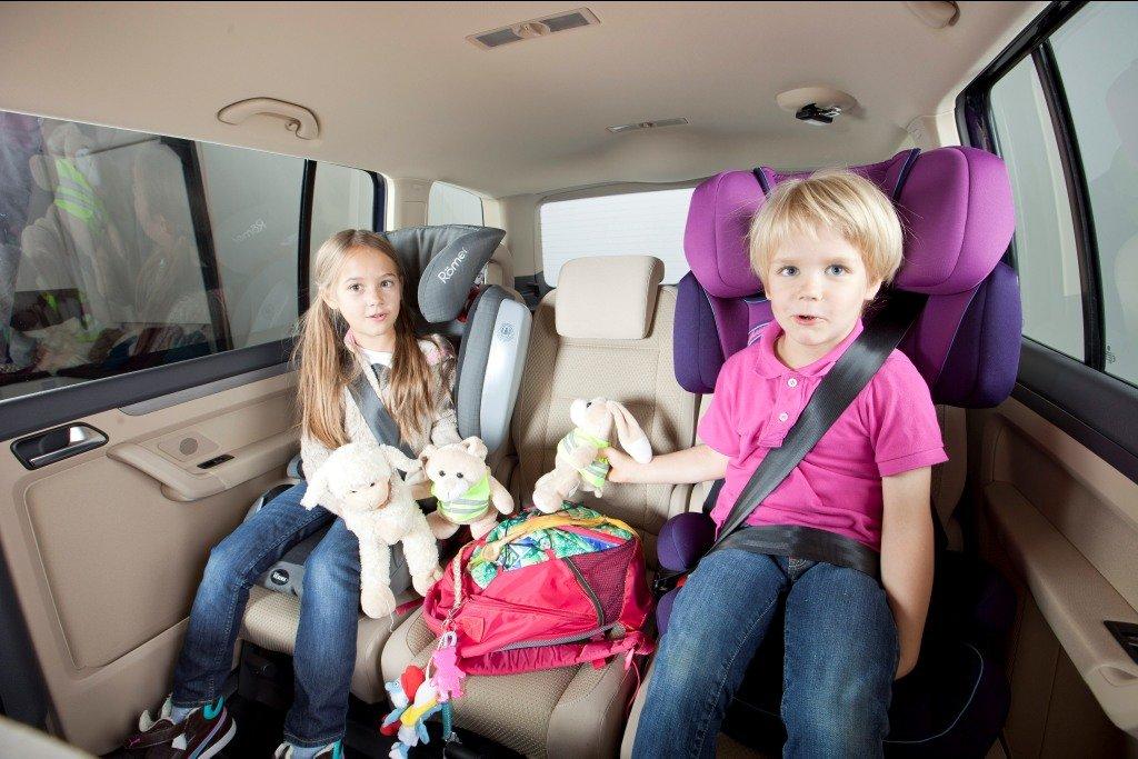 Für jedes Kind den passenden Sitz © ADAC