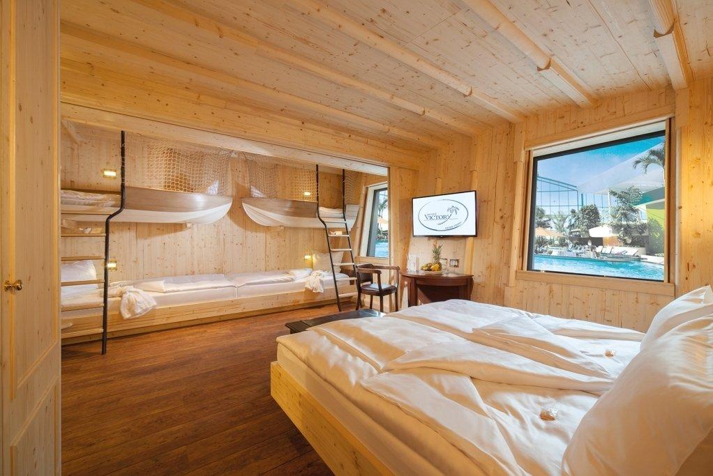 Das Kapitänszimmer in der Therme Erding - ein Traum für Familien © Therme Erding