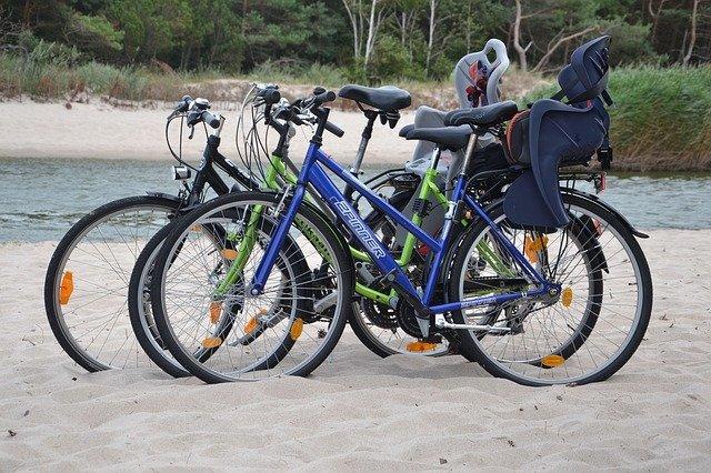 Eine Strand-Stopp ist auch auf einer Radtour möglich! © Pixabay