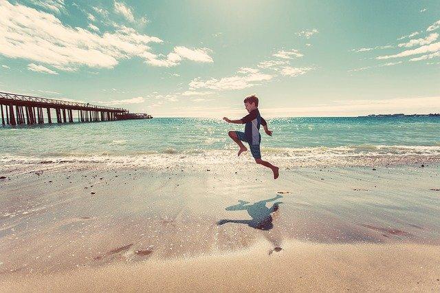 Juhu, Ferien! Wer jubelt mit? © Pixabay
