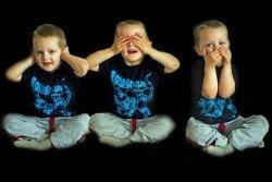 Nicht zuhören, nichts sagen, nicht mit den Augen rollen - der beste Rat gegen blöde Sprüche