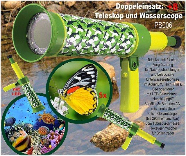 Unterwasserteleskop für kleine Entdecker © Amazon.de