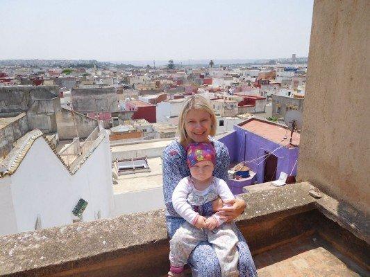 Allein mit Felicia nach Marokko