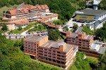 Das Göbel's Hotel Rodenberg liegt hoch über dem Fuldatal der wunderschönen Stadt Rotenburg a.d. Fulda © Göbel Hotels