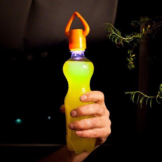 Superpraktisches Flaschenlicht © Radbag.de