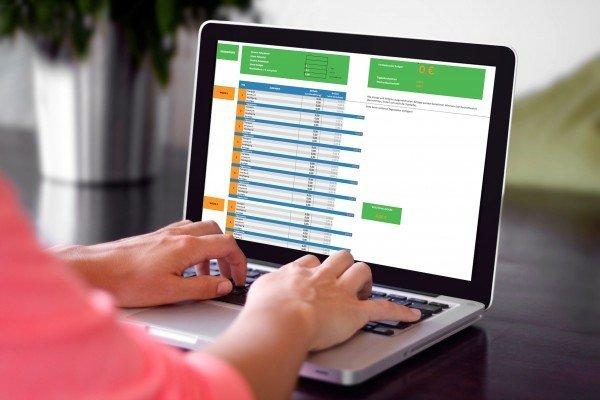 Reisebudget-Rechner für Familien