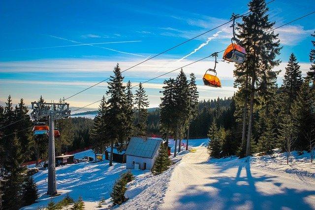 Skifahren im Mittelgebirge? Na klar! © Pixabay