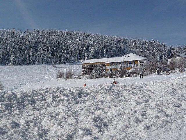 Oberwiesenthal ist das größte Skigebiet in Ostdeutschland © Pixabay