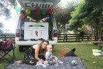 Reisen mit Kind ist dank der erstklassigen Ausstattung aller Chilli Rentals Fahrzeuge kein Problem. © Chilli Rentals