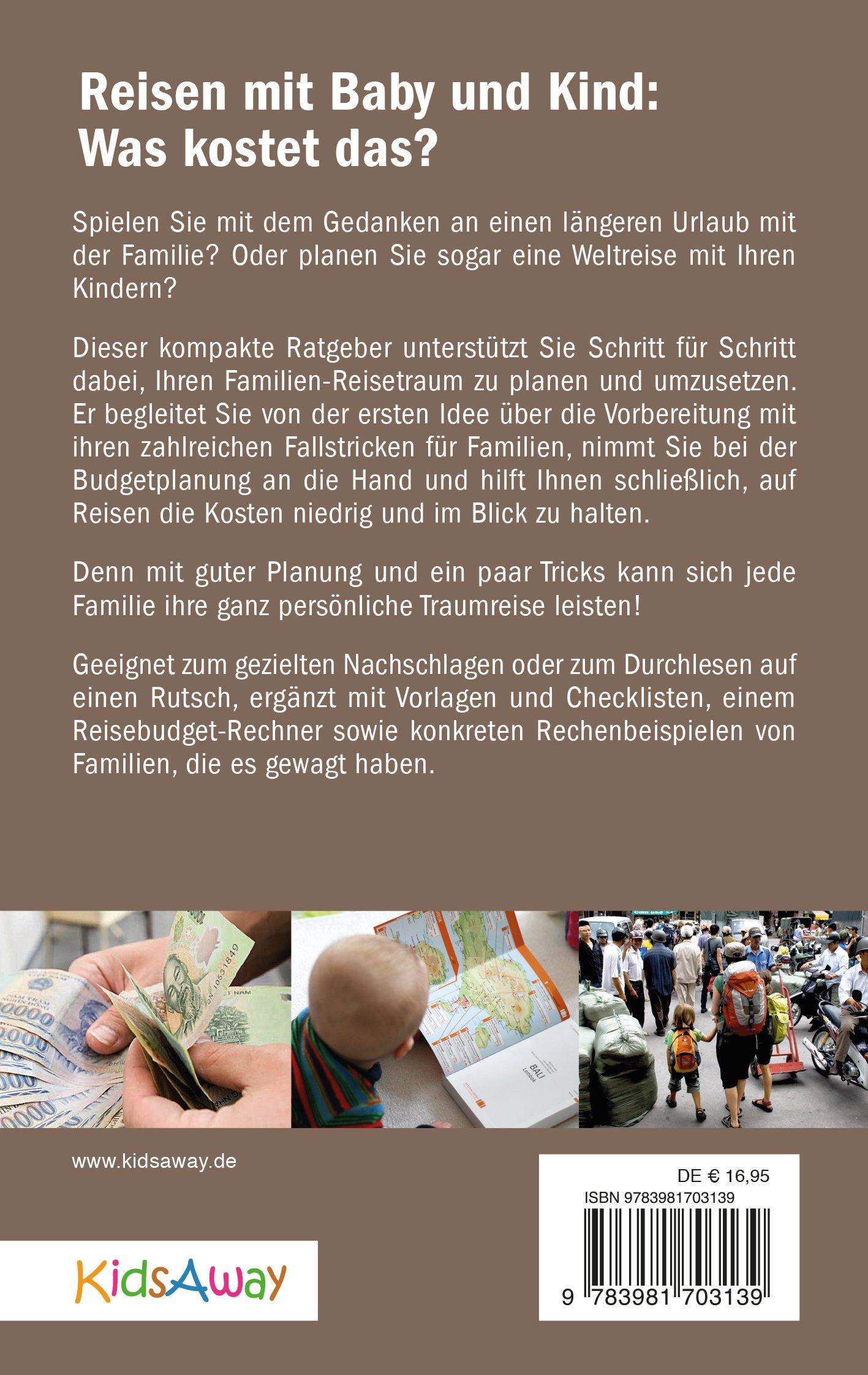 Reisebudget-Planung für Familien - Cover Rückseite © KidsAway.de