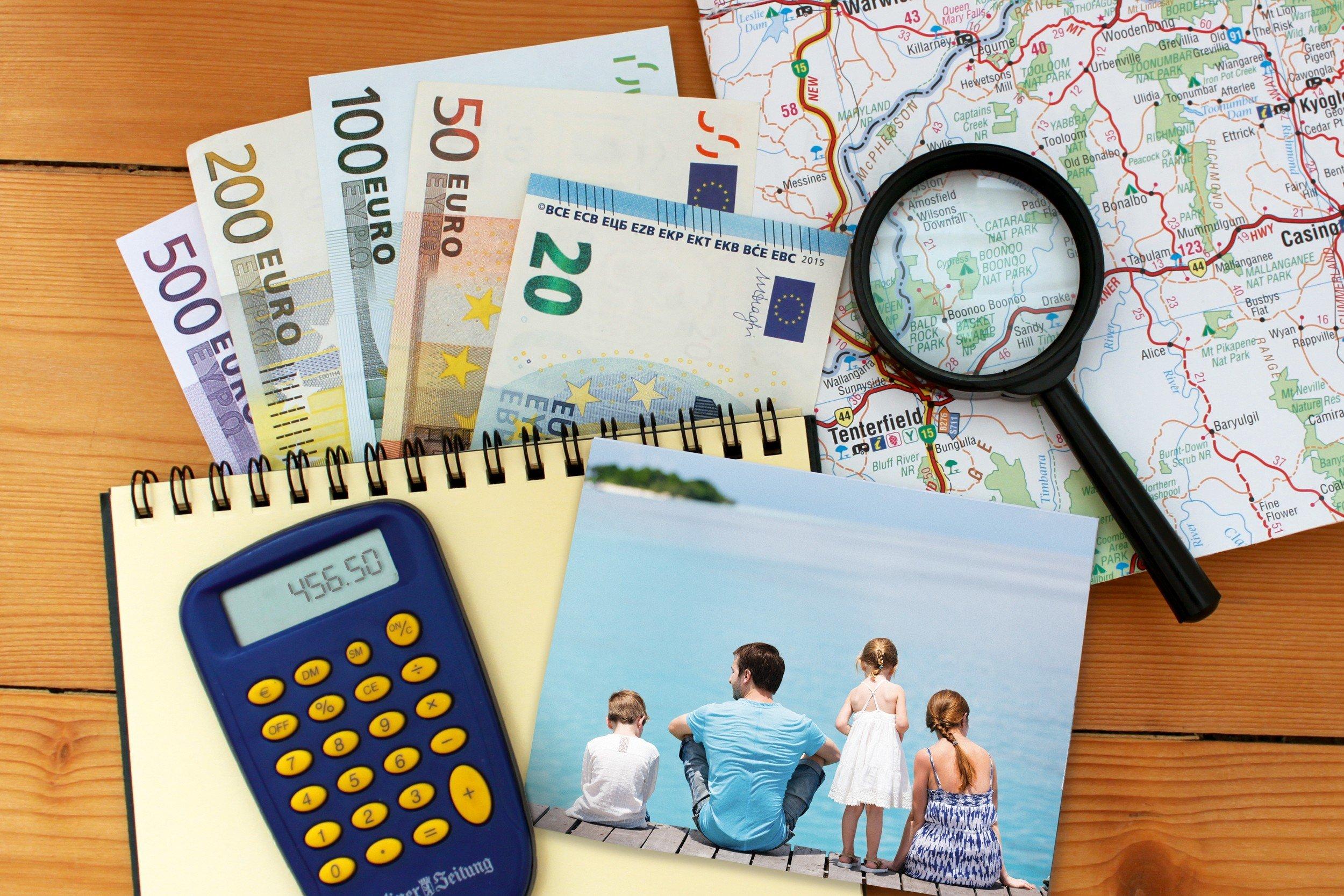 Reisebudget-Planung für Familien leicht gemacht © KidsAway.de