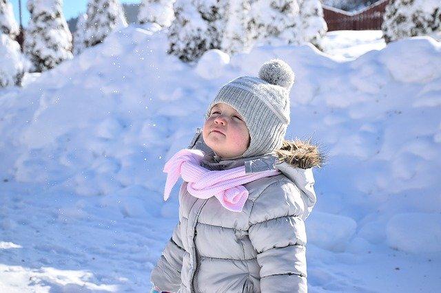 Eltern müssen Unterkühlungen rechtzeitig erkennen © Pixabay