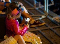 Technik ist auf Reisen mit Kindern recht nützlich