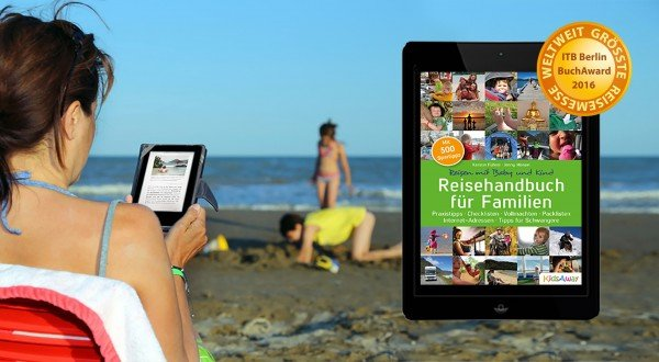 Praktisch: das neue Reisehandbuch als Ebook für unterwegs