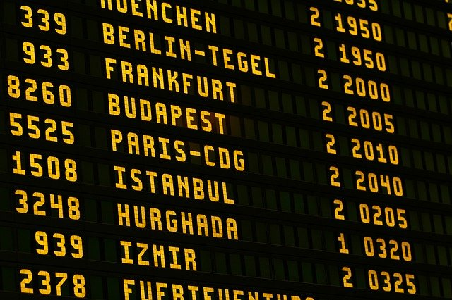 Nicht jeder Flug wird überbucht © Pixabay