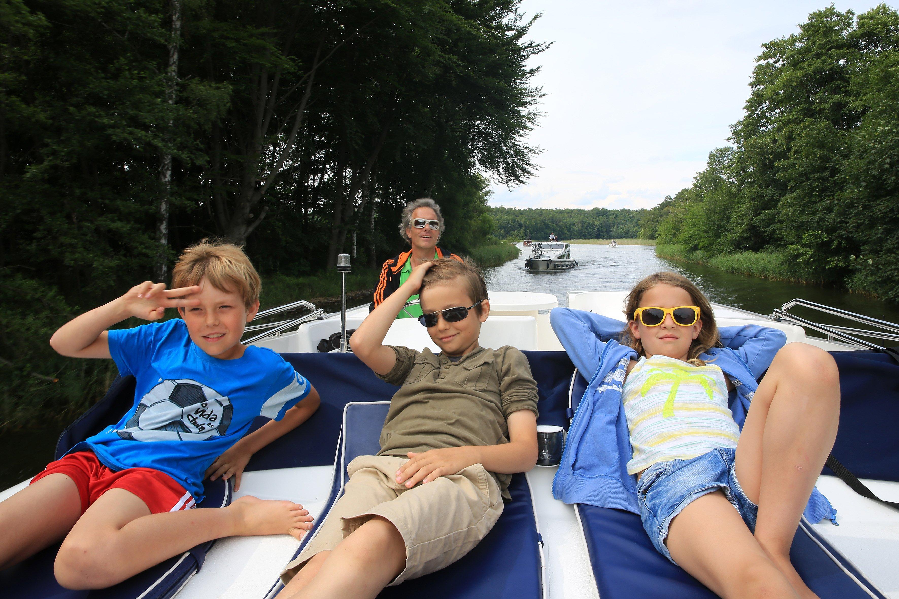 Gemütliche Bootstour über die Mecklenburger und Brandenburger Seen © Le Boat