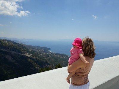 Auf dem Llogara Pass in Albanien © gadjii