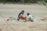 Sandburgen bauen © esjulchen