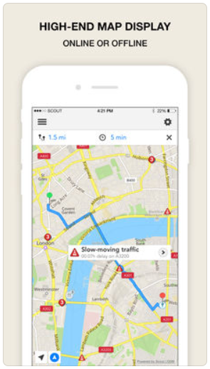 GPS Navigation Karten App Map App