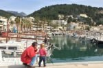 Port de Soller mit Kind