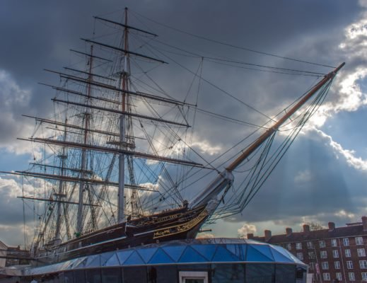 London mit Kindern - Cutty Sark