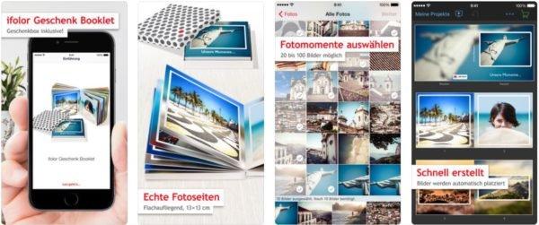 Fotobuch erstellen - iFolor Booklet