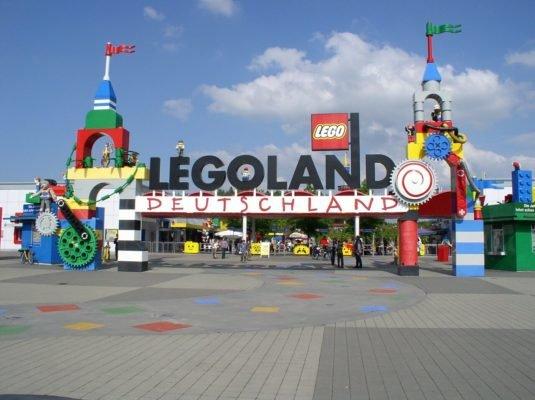 Camping in Bayern - Legoland Günzburg