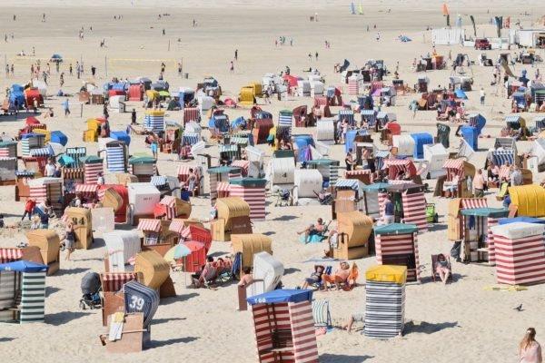 Strandurlaub in Deutschland - Borkum